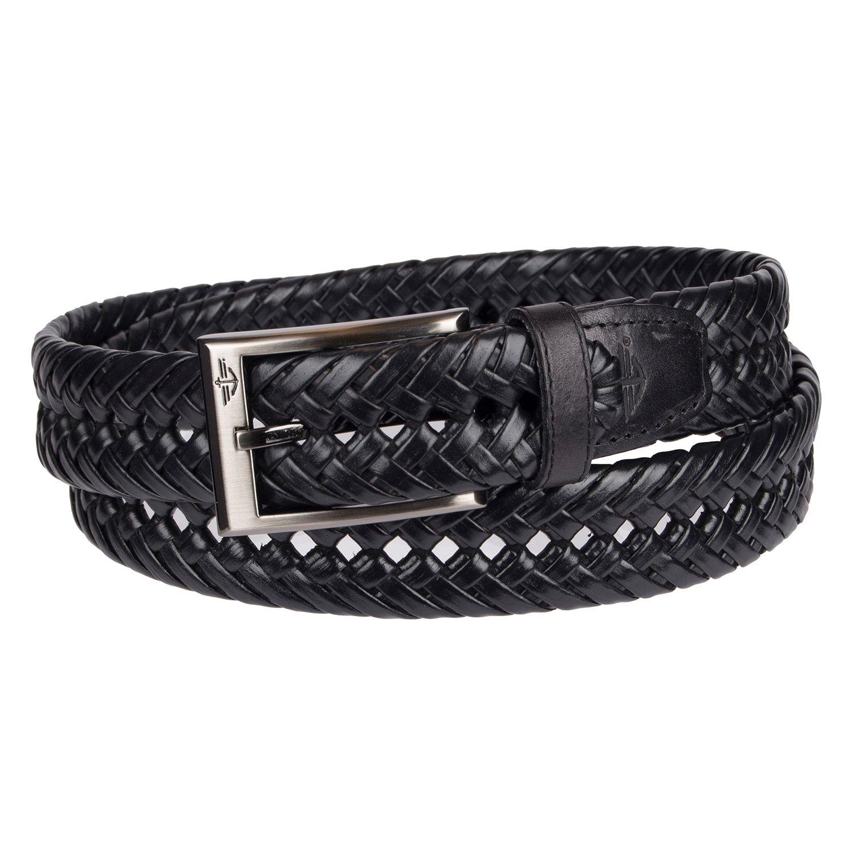 Men's Dockers�20Leather Braided Dress Belt Leather,
