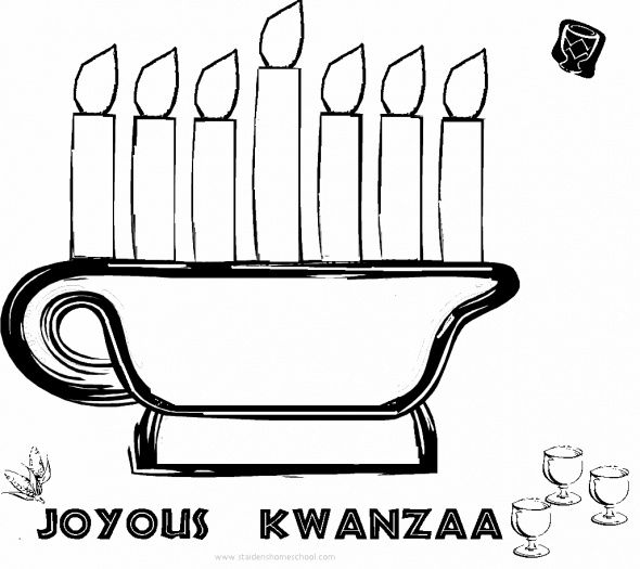 kwanzaa coloring sheets | Free Kwanzaa Coloring Pages for Kids ...