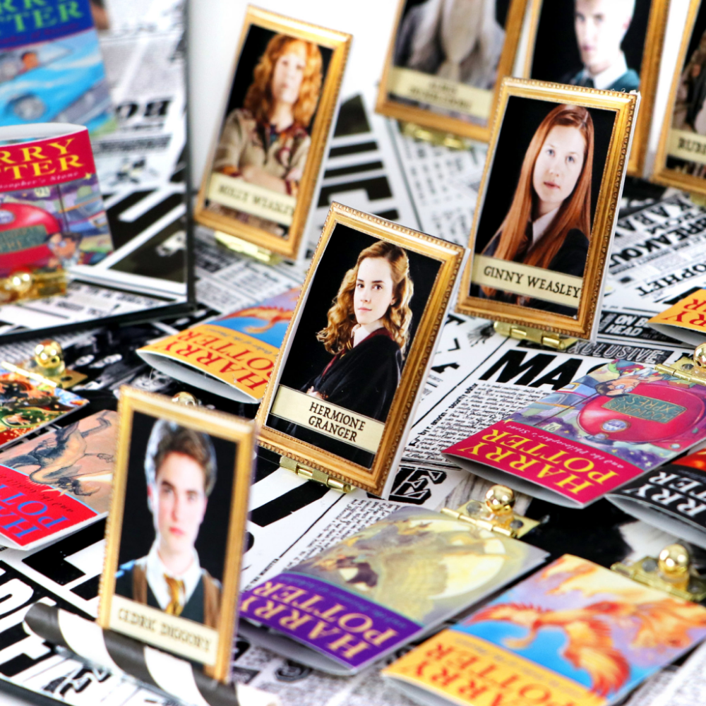 DIY Harry Potter Guess Who Game (With images) Harry