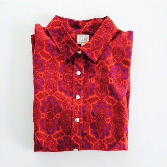 4f475a51090 J. Crew  classic button-down Button-down printed Perfect Shirt from ...