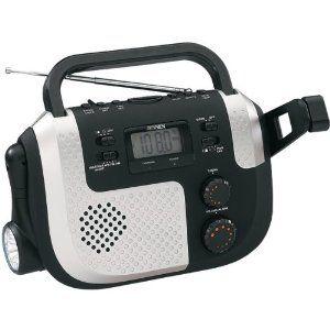 Jensen Mr-720 Self-Powered Am/Fm/Noaa Weather Radio With