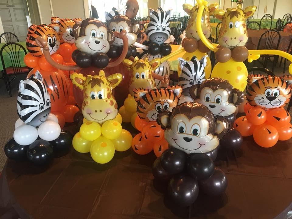 Lion King Party Animal Jungle Party Decor Zoo Nala Circus Party Safari Party Decor 24 Lion Foil Balloon Animal Balloons Simba