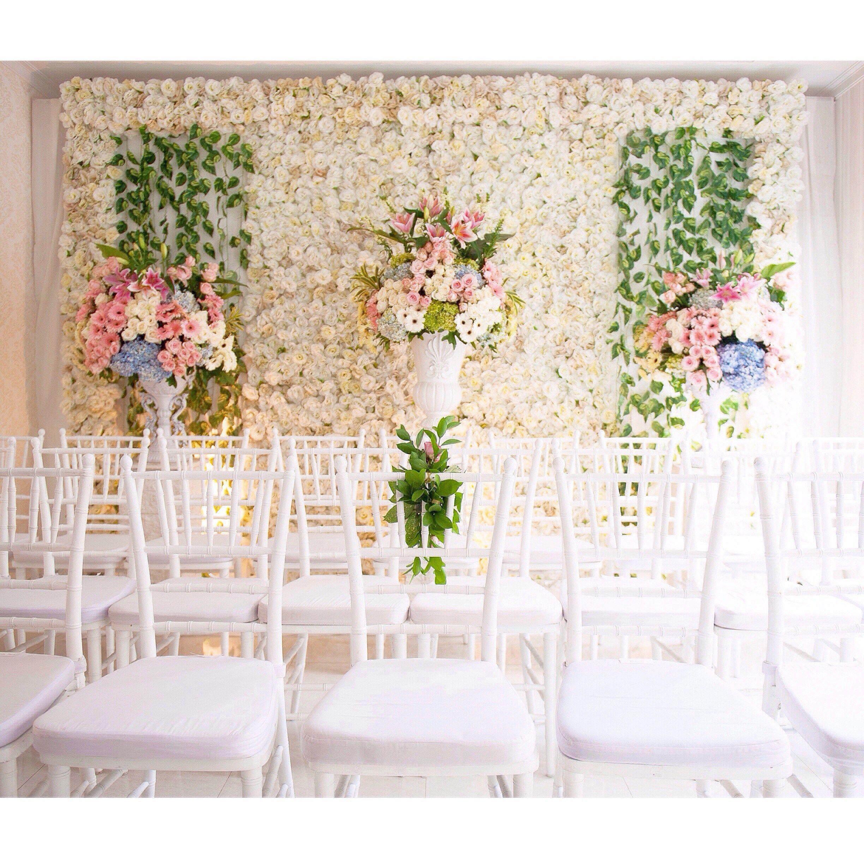 Pesta Lamaran Bertema Floral Dekorasi