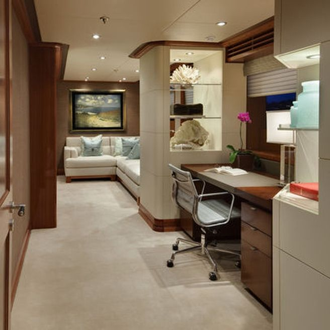 home office design ltd. Office Carved Into Living Room Space JQB Ltd Design - Master Stateroom Writing Desk Contemporary Home Seattle Jonathan Quinn Barnett I