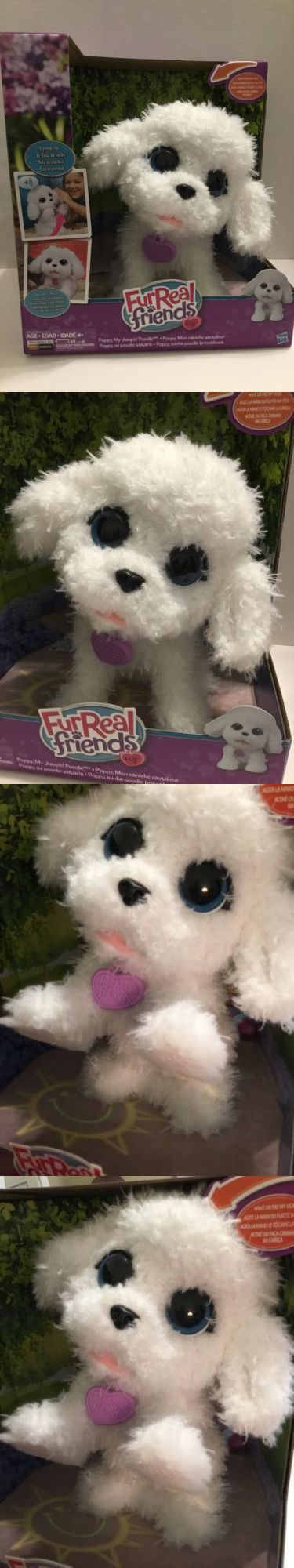 Furreal Friends 38288 Furreal Friends Poppy My Jumpin Poodle Interactive Puppy Dog Hasbro New Buy It Now Onl Fur Real Friends Interactive Puppy Poodle
