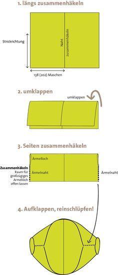 Photo of © Die Maschen zum Glück | Anleitung Seelenwärmer XL aus Zauberball 100 und K…