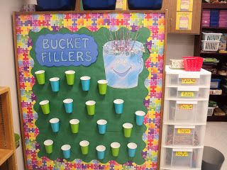 Bucket Fillers!  Teaching With Z: Tour of my First Grade Classroom