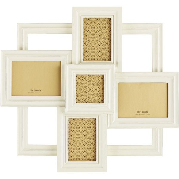 Pier 1 Imports Monogram Collage Frame ($72) ❤ liked on Polyvore ...