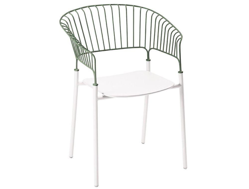 Mobilier de jardin design français métal en couleurs | ROMARIN ...