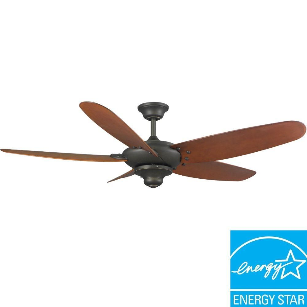 Hampton Bay Altura 60 In Indoor Outdoor Oil Rubbed Bronze Energy Star Ceiling Fan