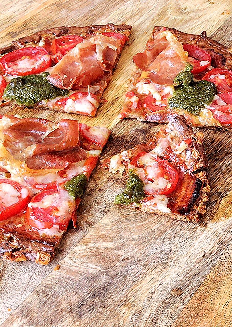 Die beste Low Carb Pizza – Holla die Kochfee  – Gluten Diet Recipes