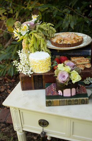 Dessert Table For A Fairy Tale Themed Baby Shower Photo By