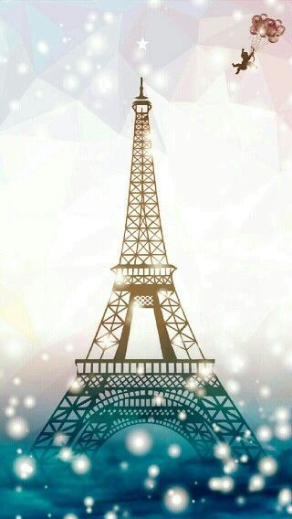 Paris Background Cartoon Iphone 7 Wallpapers Cute Wallpaper Backgrounds