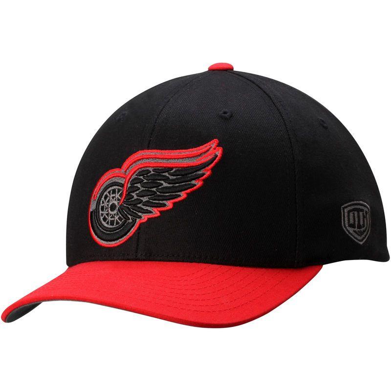 Detroit red wings old time hockey black knight herringbone