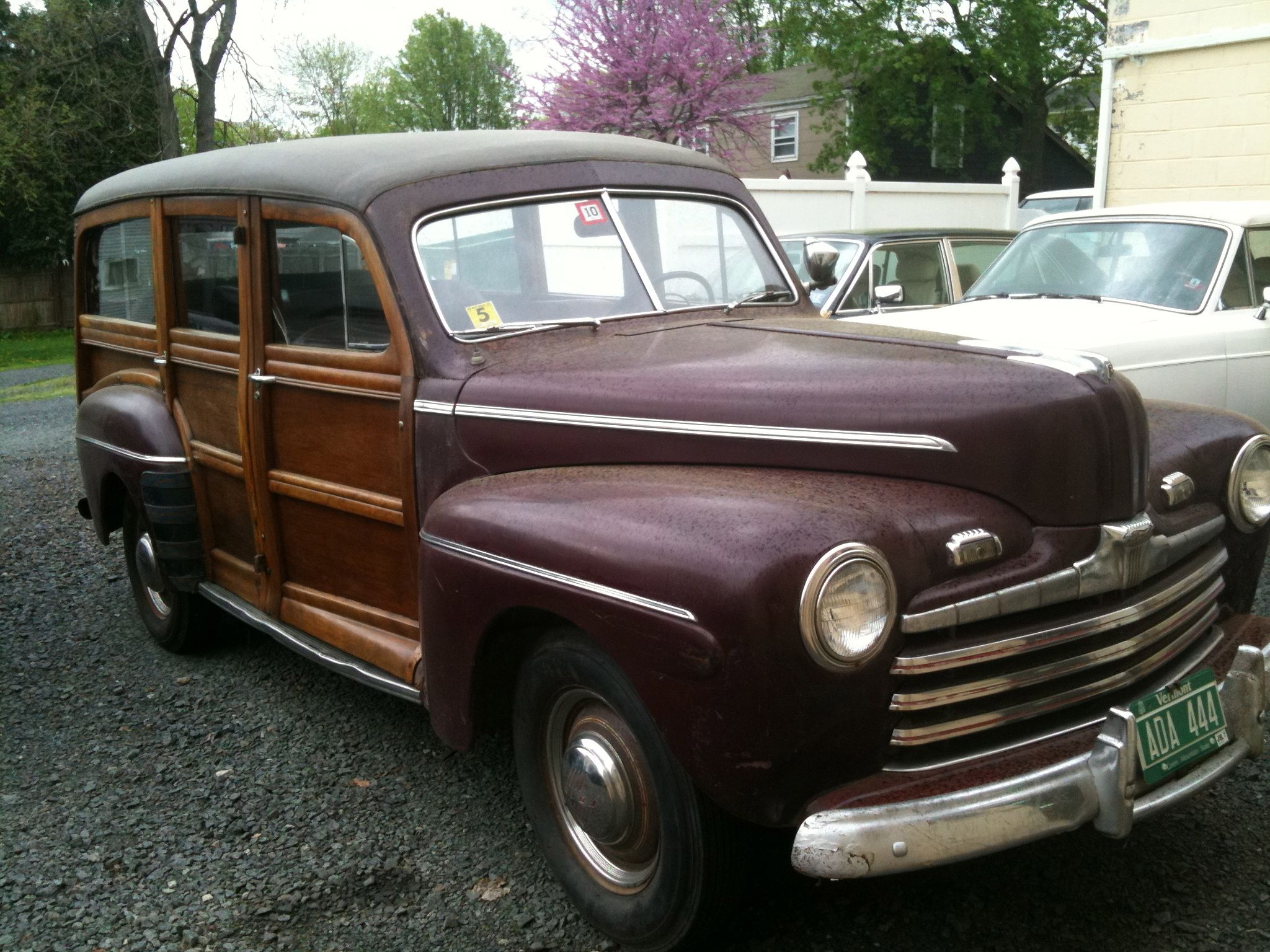 A sorry example of this great American icon, The Woody!