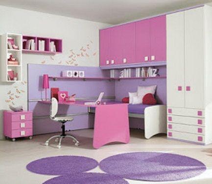Combinacion-de-colores-en-cuartos-de-ninias.jpg (433×375) | bedroom ...