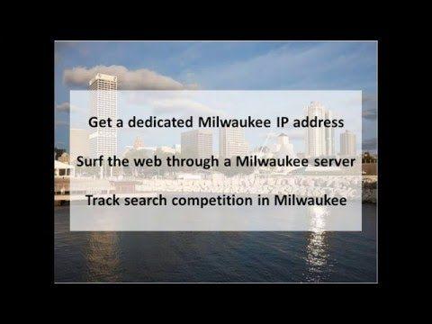 Milwaukee Wi Private Proxies Buy Milwaukee Proxy Servers Pk