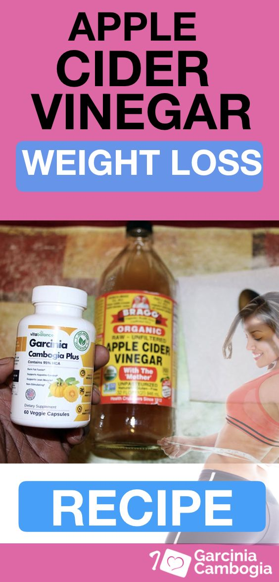 How To Use The Garcinia Cambogia And Apple Cider Vinegar Drink