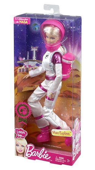 Barbie Mars