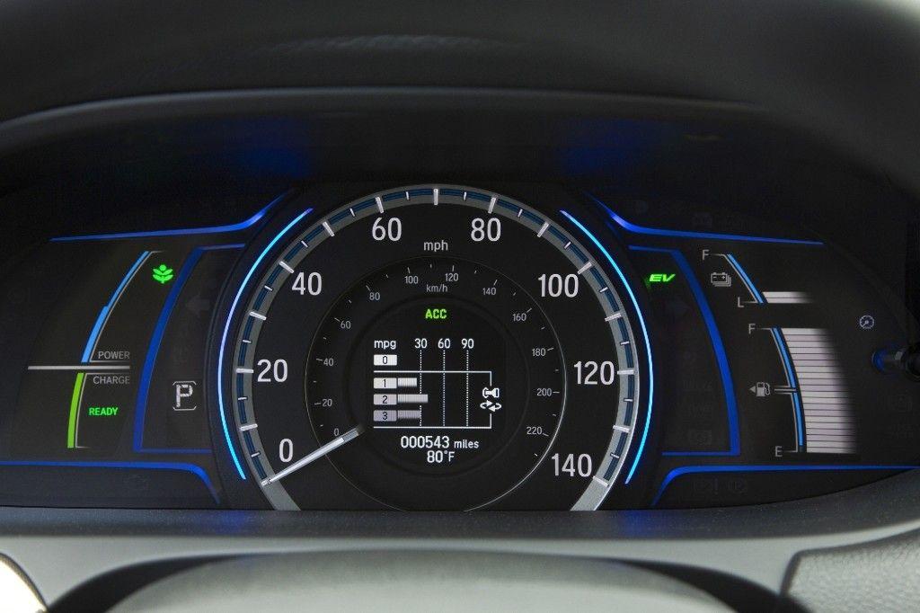 Dashboard Sdometer Honda Accord Hybrid