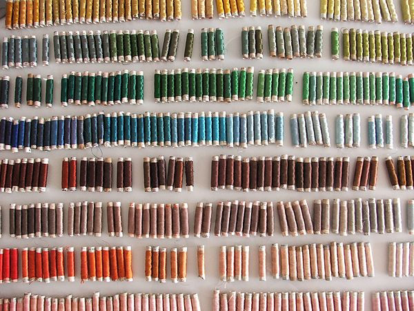 Prachtige kleuren klosjes