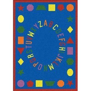 Joy Carpets Educational First Lessons Kids Rug