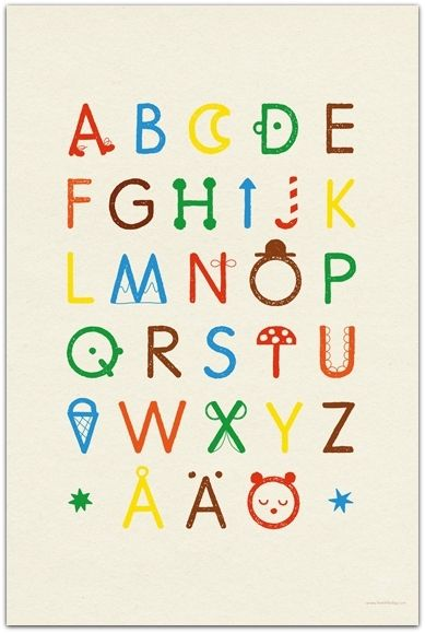 POSTER ABC - FINE LITTLE DAY