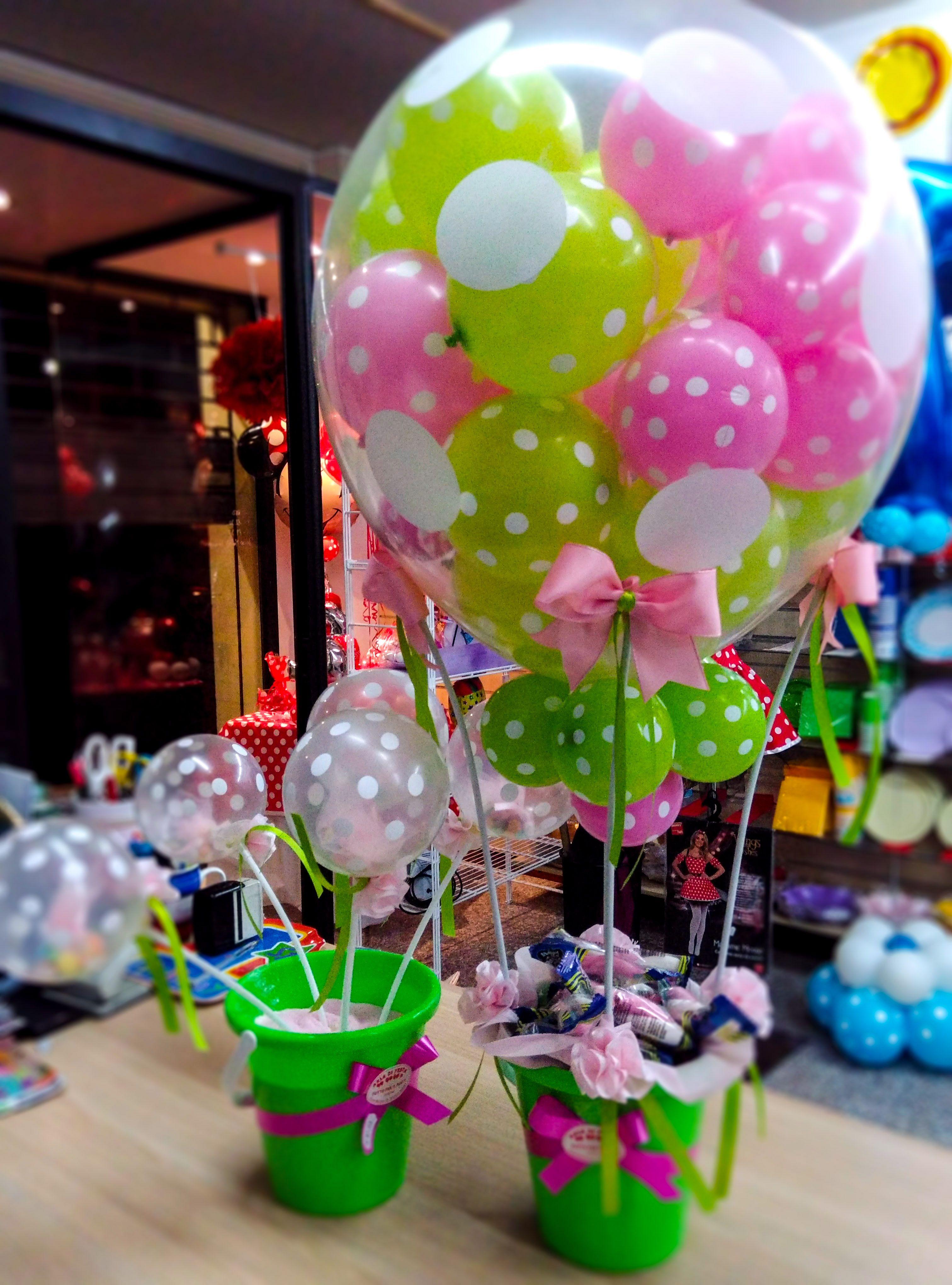 Mongolfiera porta dolci e bomboniere regalino per for Decorazioni feste