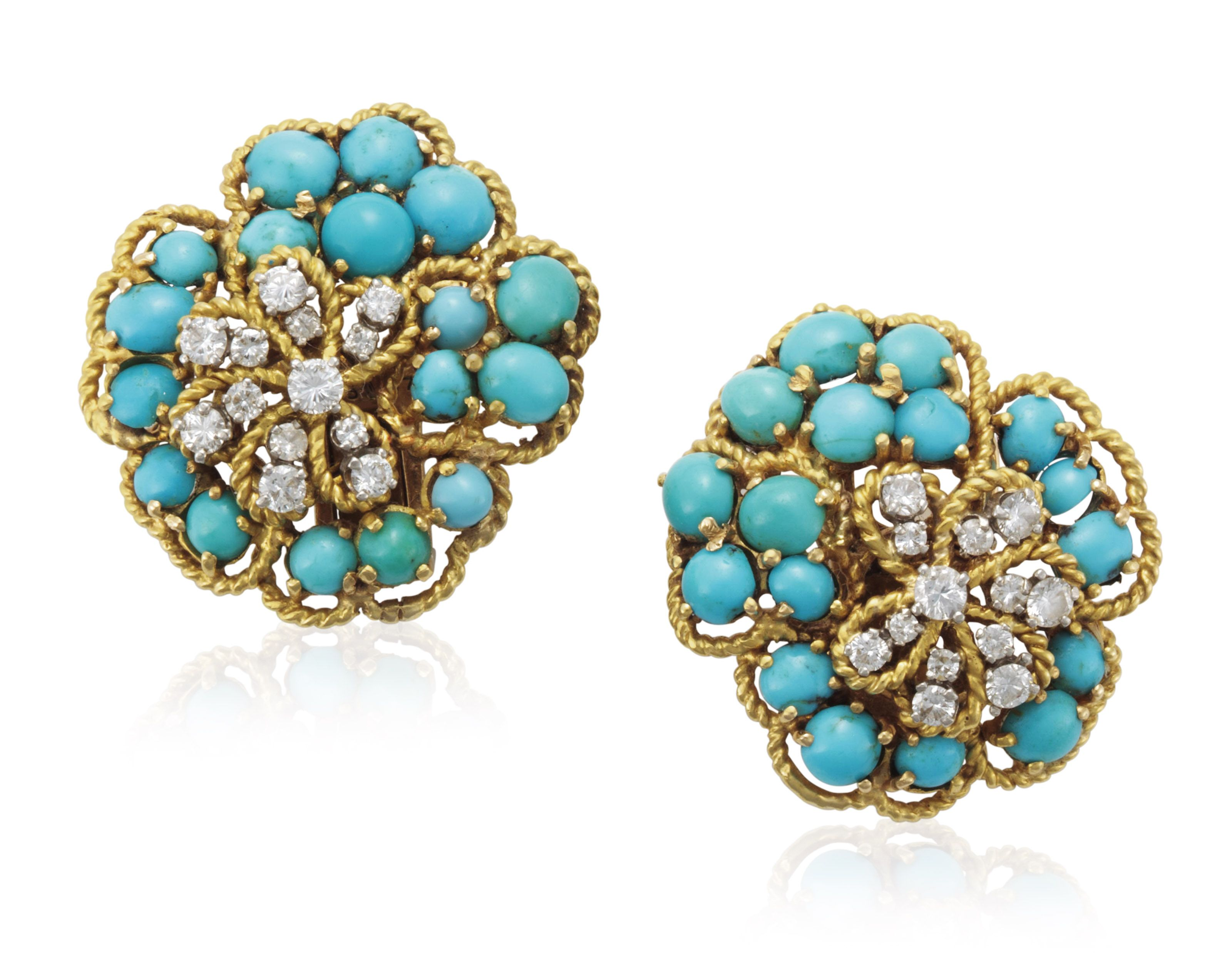 Van Cleef & Arpels Floral Earrings