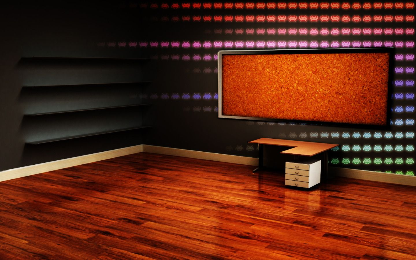 3d room desktop backgrounds http