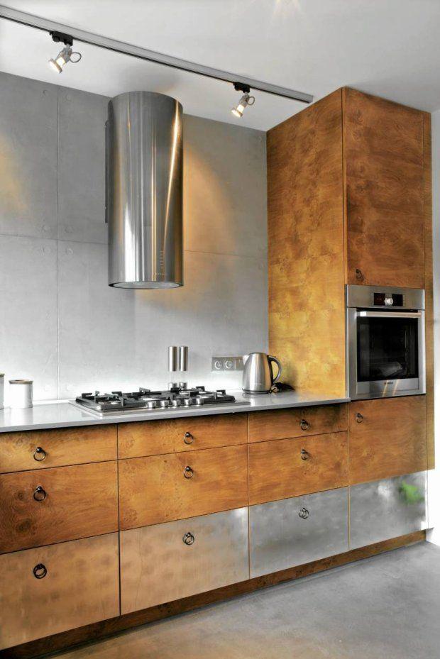Aranzacje Wnetrz Nad Blatem Zainstalowano Oswietlenie Szynowe Spotline Na Suficie Lampe Z Dwoma Halogenami Kitchen Interior Sweet Home Style Kitchen Decor