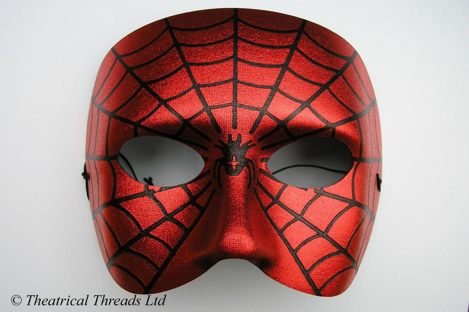 4b257db40095 Masquerade Ball | Spiderman Italian Masquerade Ball Halloween Mask from  Theatrical .