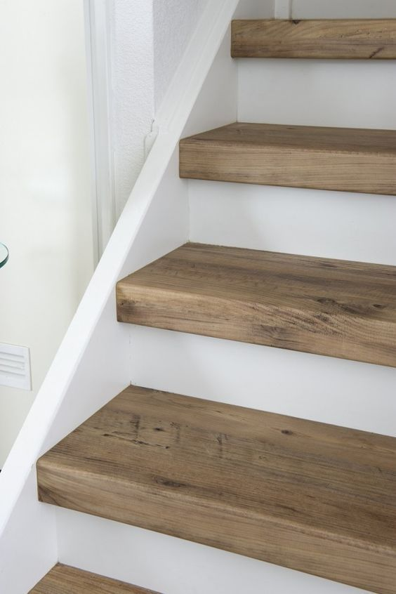 Best Bullnose Oak Treads Diy Staircase Staircase Makeover 400 x 300