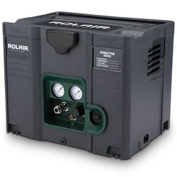 Rolair Airstak Quiet 1hp Systainer Box Oil Free Air Compressor In 2020 Air Compressor Portable Air Compressor Quiet Compressor