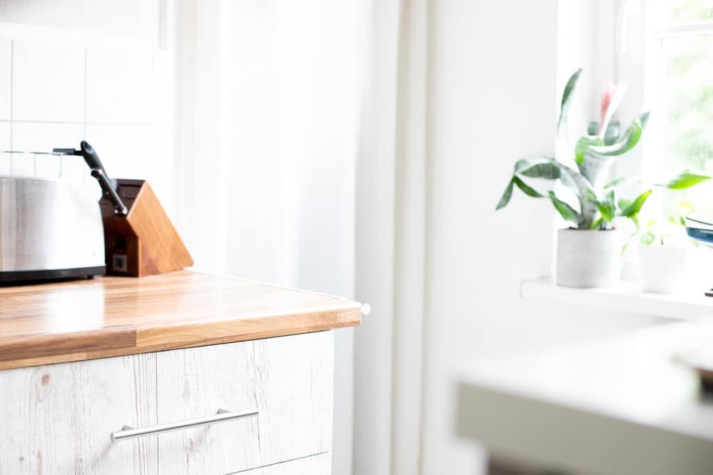 Küchen Makeover - IKEA Küche mit Klebefolien umgestalten ...