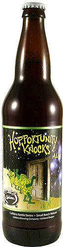 Hopportunity Knocks Ale HOPPY!!
