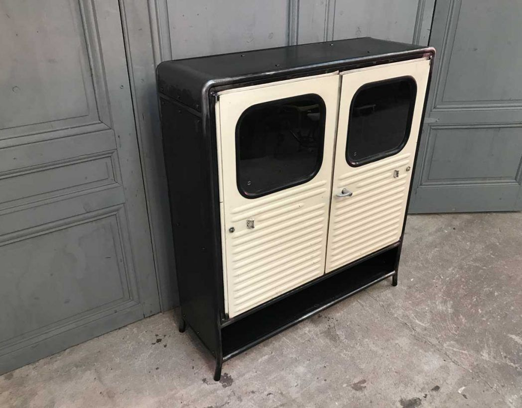Creation Meuble 2cv Fourgonette Porte Retro Vintage 5francs 4  # Meuble Retro