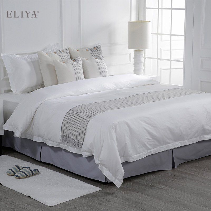 Eliya Hotel Linen On Instagram Eliya Manufactures Hotel King Size White Stock 100 Cotton Ropa De Cama Sabanas Mordern Bed Hotel Bed Hotel Towels Hotel King