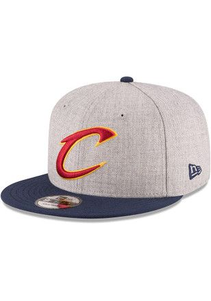 New Era Cleveland Cavaliers Grey 2017 NBA Finals Side Patch 9FIFTY Snapback  Hat 0b0d4335d16