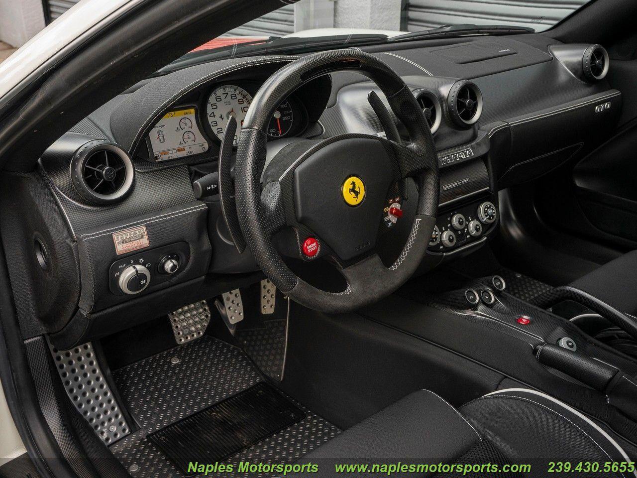 2011 Ferrari 599 GTO Naples Motorsports United States