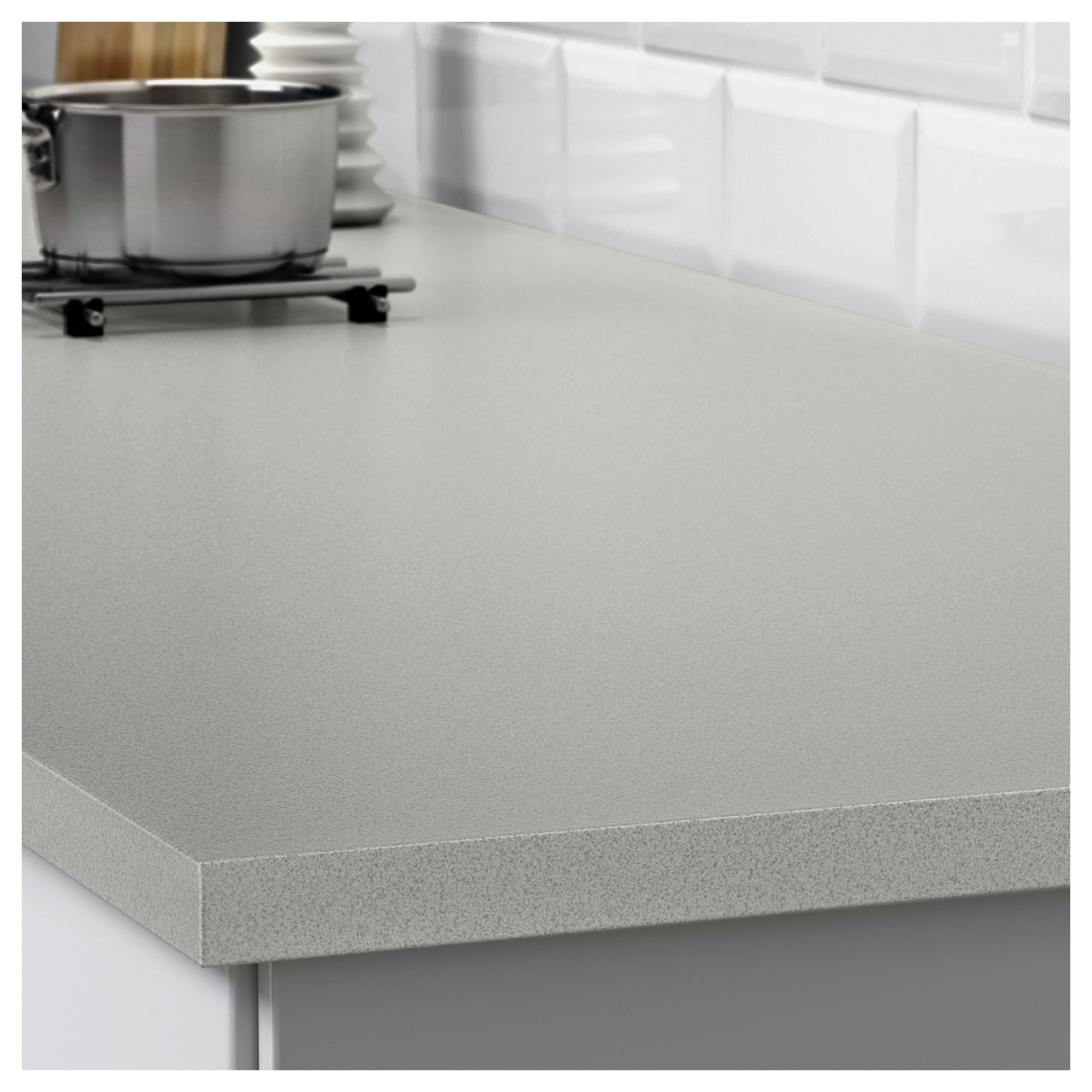 Ikea Ekbacken Countertop Light Gray Stone Effect