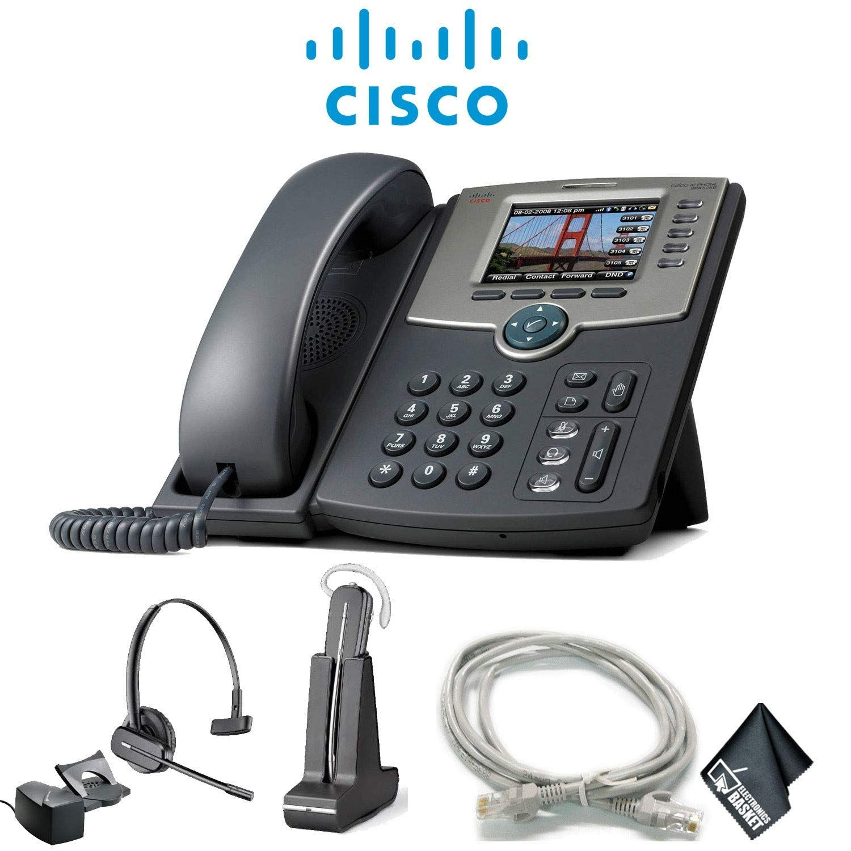 Amazoncom Cisco Ip Phone 8865 Extra Cat5 Cables Wireless Headset In 2020 Wireless Headset Phone Voip Phone