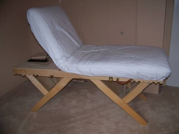 Massage Table With Futon Could Be Made With All Natural