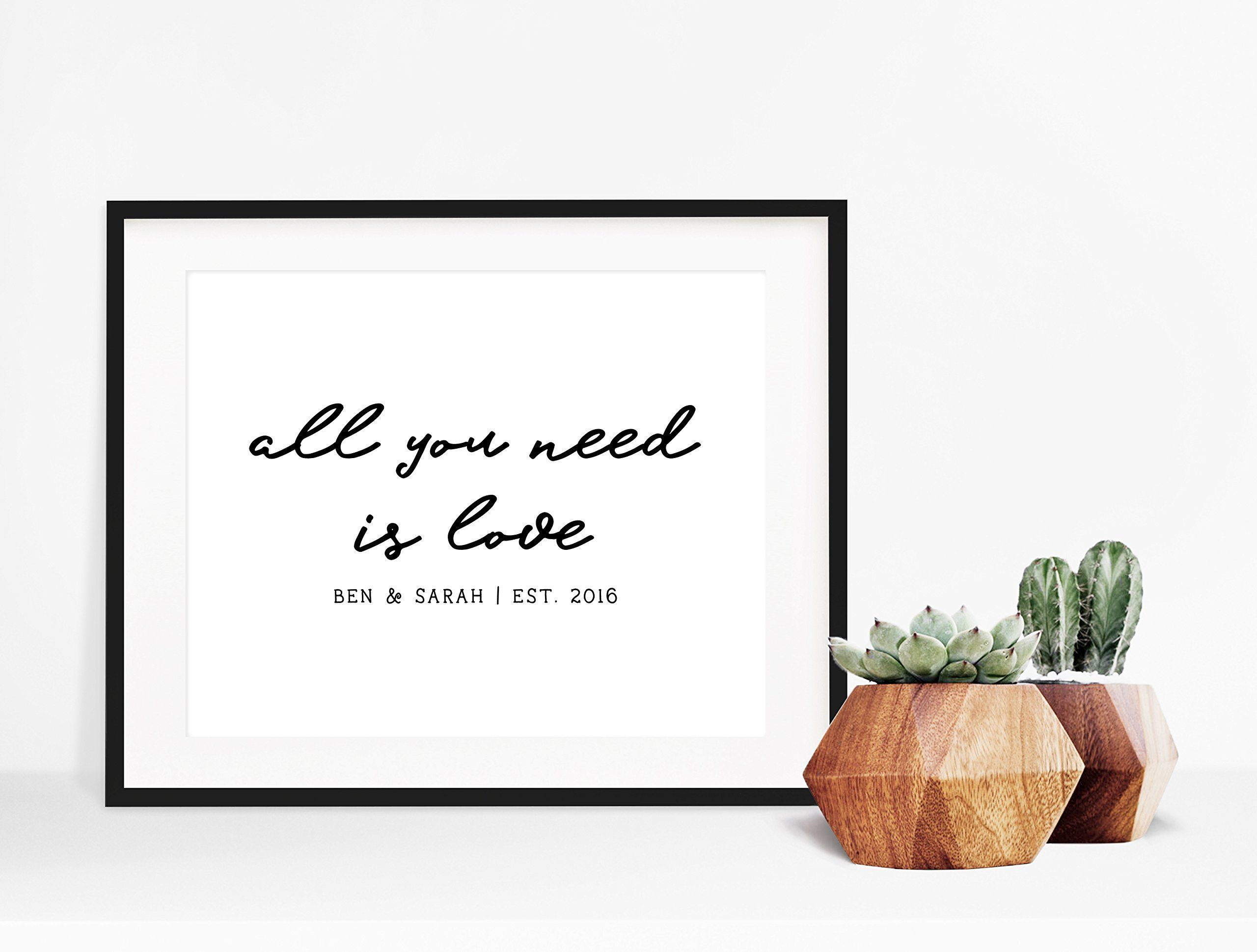Wedding Song Lyrics All You Need Is Love The Beatles This Lyric Poster