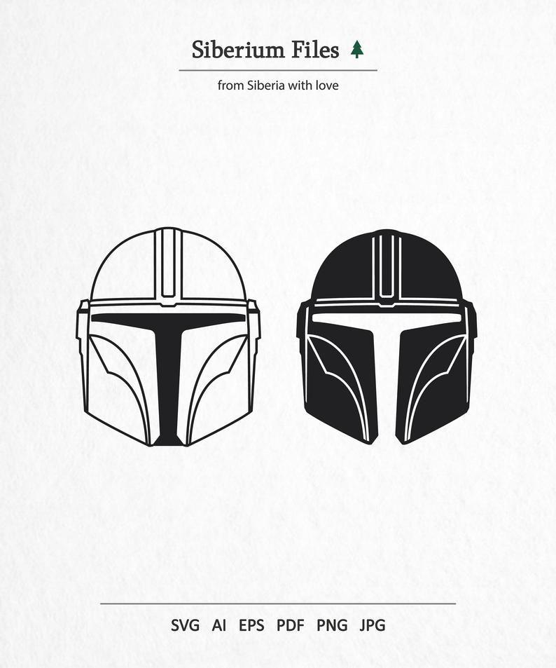 Mandalorian Helmet Silhouette : mandalorian, helmet, silhouette, Mandalorian, Helmet, Clipart., Disney, Sv…, Helmet,, Decal,, Silhouettes