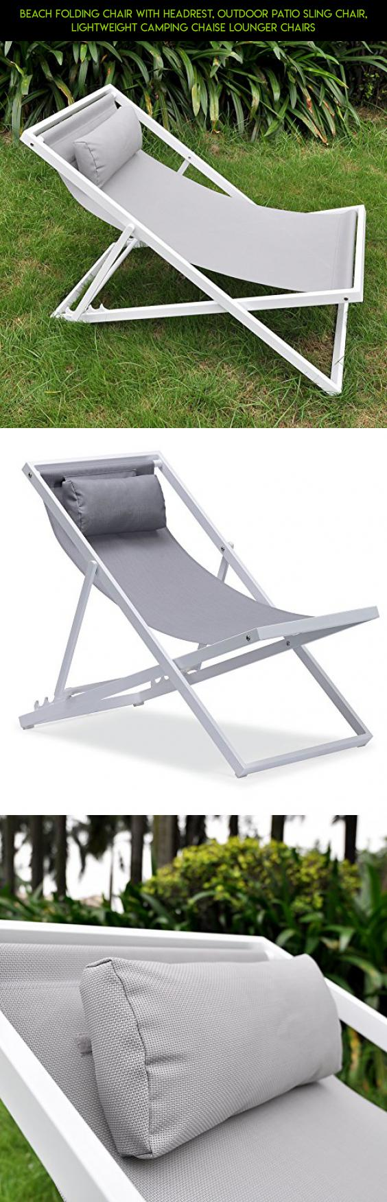 outdoor sling chairs. beach folding chair with headrest, outdoor patio sling chair, lightweight camping chaise lounger chairs n