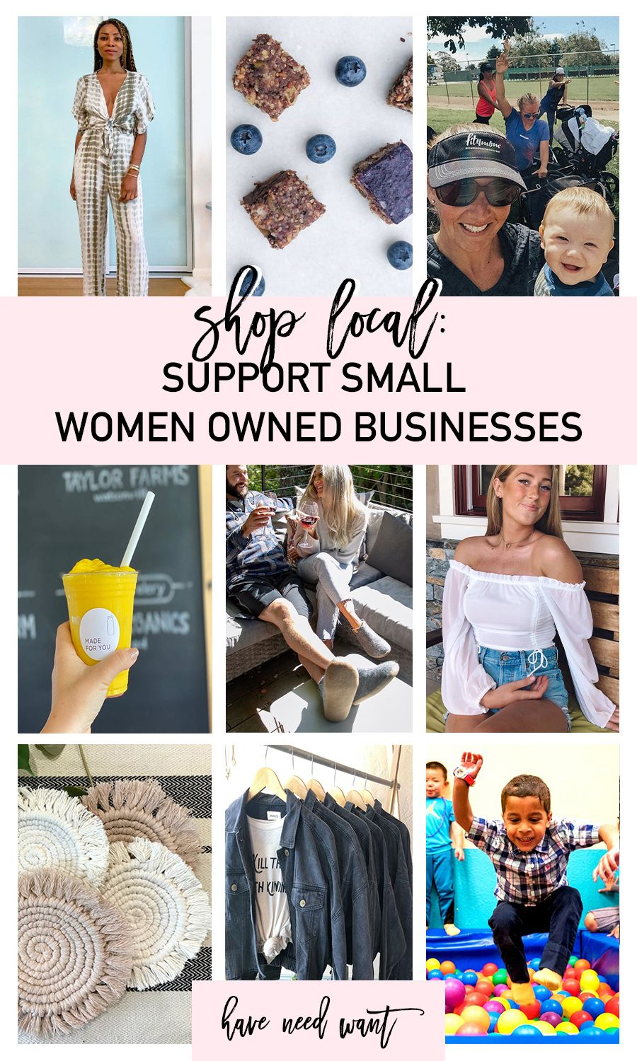 Shop Local Support Small Women Owned Businesses Have