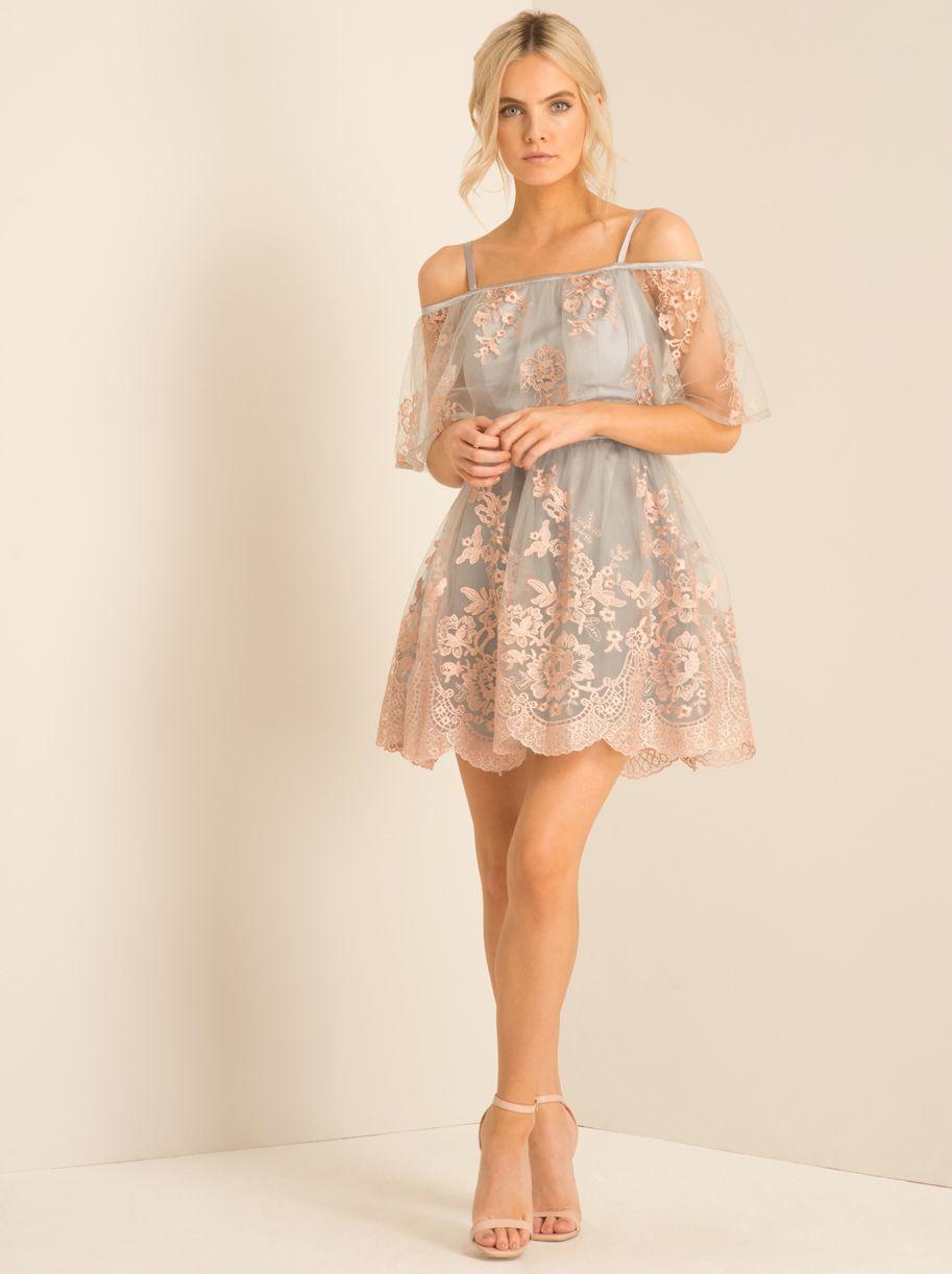 Chi Chi Petite Freya Dress Ulichnaya Moda Moda