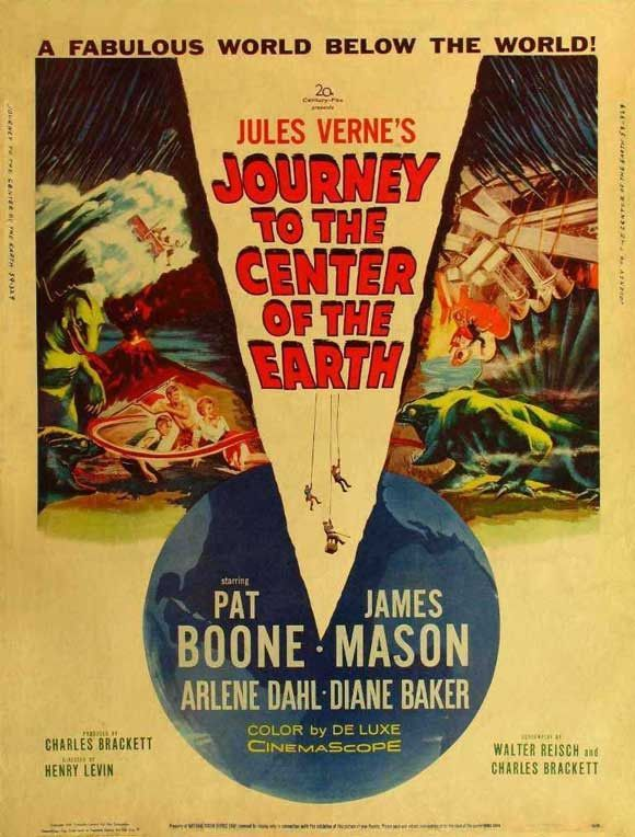 Journey to the Center of the Earth 11x17 Movie Poster (1959) (With ...