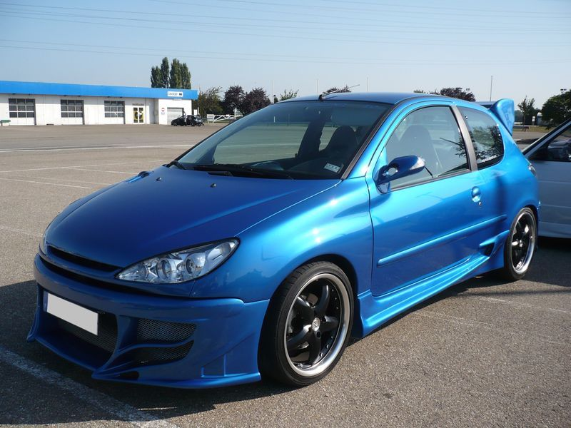 peugeot 206 blue tuning cars pinterest peugeot and cars. Black Bedroom Furniture Sets. Home Design Ideas